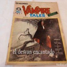 Cómics: ESCALOFRIO. Nº 1 VAMPIRE TALES Nº1 . EDICIONES VERTICE 1973. Lote 269415218