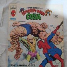 Cómics: SPIDER-MAN Y LA COSA--V. 2-N°61--MARVEL-VERTICE-1973--EN EXCELENTE ESTADO DE CONSERVACIÓN-. Lote 269460853