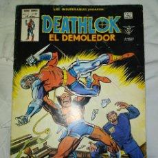 Cómics: DEATHLOK EL DEMOLEDOR. VOL. 1.N° 27 - EN EXCELENTE ESTADO DE CONSERVACIÓN---MARVEL--VERTICE. 1979. Lote 269461413