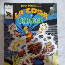 Cómics: LA COSA Y DEATHLOK--VOL.2-N° 120--MARVEL-- VÉRTICE--1979. - EN EXCELENTE ESTADO DE CONSERVACIÓN-.. Lote 269462323