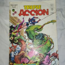 Cómics: TRIPLE ACCIÓN--MARVEL--VERTICE--1979--EN EXCELENTE ESTADO DE CONSERVACIÓN-. Lote 269464218