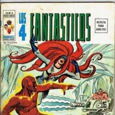 Cómics: LOS 4 FANTÁSTICOS VOL. 2 - Nº 6 - MUERTE A 200 GRADOS BAJO CERO - VÉRTICE 1974. Lote 269836413