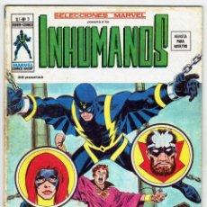 Cómics: LOS INHUMANOS VOL. 1 - Nº 3 - VÉRTICE 1974. Lote 269836733