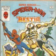 Cómics: SUPER HEROES V2 Nº 126 SPIDER-MAN Y LA BESTIA - VERTICE - 1980. Lote 269846798