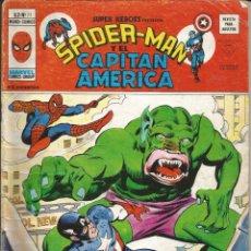 Cómics: SUPER HEROES PRESENTA SPIDER-MAN Y EL CAPITÁN AMÉRICA V2 Nº 71 MARVEL - 1977. Lote 269847683