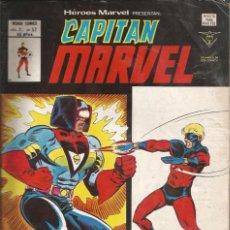 Cómics: HÉROES MARVEL V2. VÉRTICE 1975. Nº 57 CAPITÁN MARVEL - DEBAJO DE LA MÁSCARA...¡UN HOMBRE!. Lote 269849308
