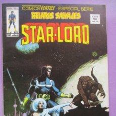 Cómics: RELATOS SALVAJES Nº 59 STAR-LORD VERTICE ¡¡¡¡¡ EXCELENTE ESTADO !!!!. Lote 269935153