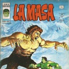 Cómics: LA MASA V3. VÉRTICE 1975. Nº 30 EL RETOÑO DEL CARNÍVORO. Lote 269958673