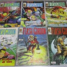 Cómics: LOTE 6 COMICS FLASH GORDON VOL 1 Nº 8-23, VOL 2 Nº 7-8-18-31 COMICS ART, EDITORIAL VERTICE. Lote 28512032