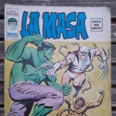 Cómics: LA MASA VOL.2 NUM.4.VERTICE, PRIMERA APARICION DE LOBEZNO (WOLVERINE) THE INCREDIBLE HULK #180. Lote 270186413