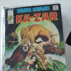 "Cómics: (VERTICE -V.1) RELATOS SALVAJES "" KAZAR"" -Nº: 12.- EXCEL.-. Lote 270223343"