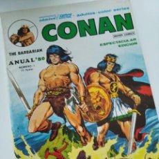 """Cómics: (VERTICE -V.1) CONAN """" EL BARBARO"""" ANUAL-80 -MBE.-. Lote 270552378"""