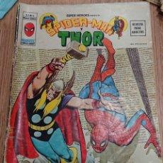 Cómics: SPIDERMAN Y THOR, VÉRTICE MARVEL, VED FOTOS ORIGINAL. Lote 270925128