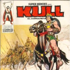 Comics : KULL EL CONQUISTADOR VÉRTICE VOL.1 NÚMERO 3. Lote 270945293