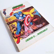 Cómics: CAPITÁN AMERICA HÉROE O... MISERABLE 27 EDICIONES INTERNACIONALES VÉRTICE 1973. Lote 270994533