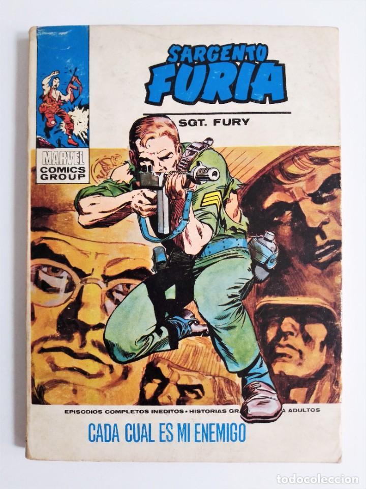 Cómics: SARGENTO FURIA SGT. FURY CADA CUAL ES MI ENEMIGO 12 EDICIONES INTERNACIONALES VÉRTICE 1973 - Foto 2 - 270995928
