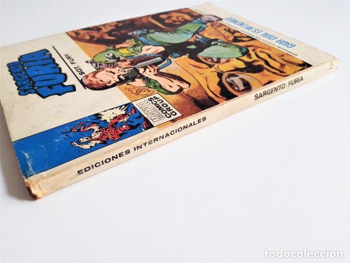 Cómics: SARGENTO FURIA SGT. FURY CADA CUAL ES MI ENEMIGO 12 EDICIONES INTERNACIONALES VÉRTICE 1973 - Foto 3 - 270995928