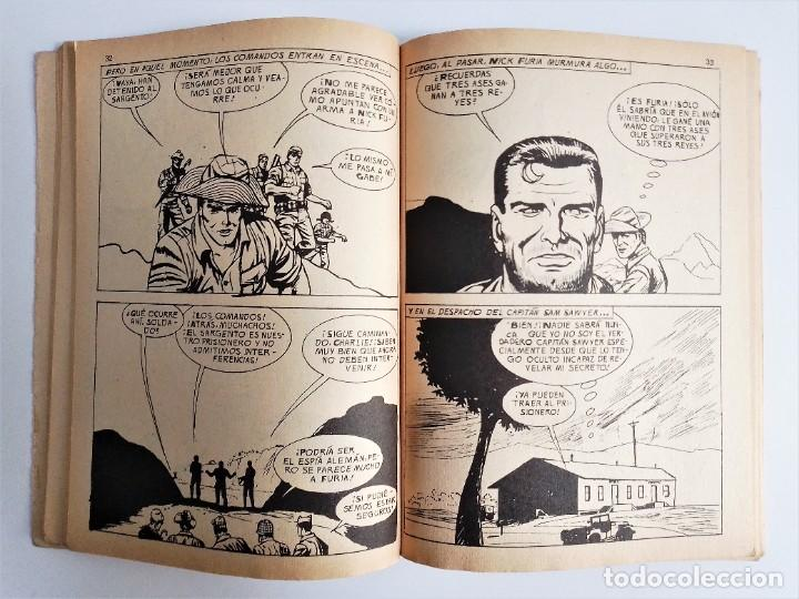 Cómics: SARGENTO FURIA SGT. FURY CADA CUAL ES MI ENEMIGO 12 EDICIONES INTERNACIONALES VÉRTICE 1973 - Foto 9 - 270995928