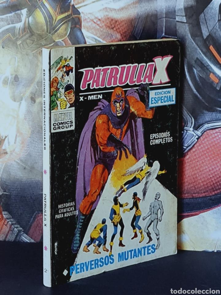 MUY BUEN ESTADO PATRULLA X 2 TACO 25PTS COMICS EDICIONES VERTICE (Tebeos y Comics - Vértice - Patrulla X)