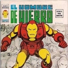 Cómics: V�RTICE. VOLUMEN 2. EL HOMBRE DE HIERRO. 5.. Lote 271199258