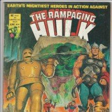 Cómics: VERTICE. THE RAMPAGING HULK. 9. ORIGINALES AMERICANOS.. Lote 271199938