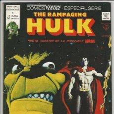Cómics: V�RTICE. THE RAMPAGING HULK. 5. Lote 271200418