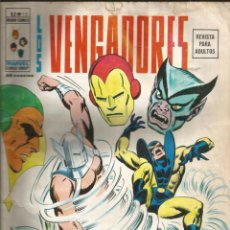 Cómics: LOS VENGADORES V2. VÉRTICE 1974. Nº 15 PRESCRIPCIÓN: VIOLENCIA. LEER. Lote 271245323