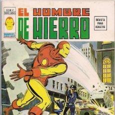 Cómics: V�RTICE. VOLUMEN 2. EL HOMBRE DE HIERRO. 2.. Lote 271199723