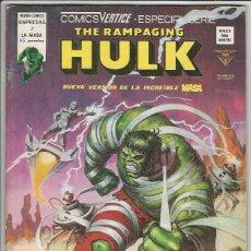 Cómics: V�RTICE. THE RAMPAGING HULK. 3. Lote 271199948