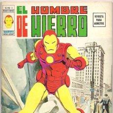 Cómics: V�RTICE. VOLUMEN 2. EL HOMBRE DE HIERRO. 1.. Lote 271208168