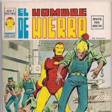 Cómics: V�RTICE. VOLUMEN 2. EL HOMBRE DE HIERRO. 4.. Lote 271228998