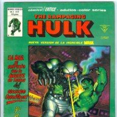 Cómics: V�RTICE. THE RAMPAGING HULK. 12.. Lote 271229548