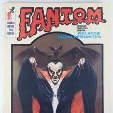 Cómics: FANTOM Nº 3 VOL 1 - EL DIABLO DE LA TELEVISIÓN - VERTICE - RELATOS ESCALOFRIANTES - 1972. Lote 271392738