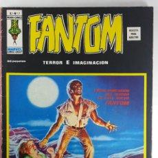 Fumetti: VOL.2 FANTOM Nº 12 - TERROR E IMAGINACION - VERTICE - RELATOS ESCALOFRIANTES -1975 - BUEN ESTADO. Lote 271595843