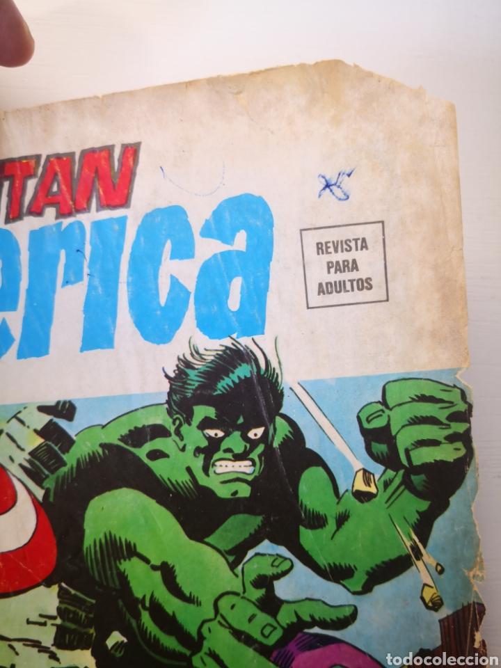 Cómics: 1976 - CAPITÁN AMÉRICA. ESTA NOCHE MORIRÉ. VOL.3 N°6. VÉRTICE. MARVEL - Foto 2 - 271597393