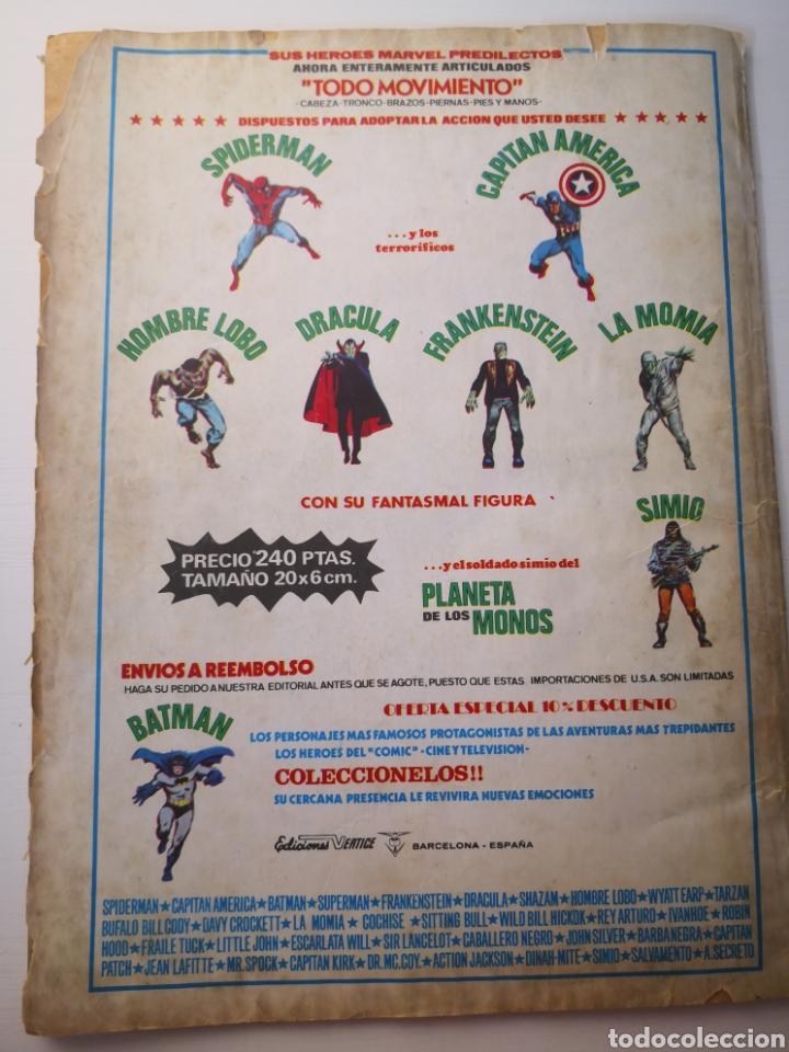 Cómics: 1976 - CAPITÁN AMÉRICA. ESTA NOCHE MORIRÉ. VOL.3 N°6. VÉRTICE. MARVEL - Foto 3 - 271597393