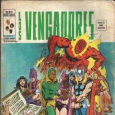 Cómics: LOS VENGADORES V2. VÉRTICE 1974. Nº 21 DEJAD QUE TODOS LOS HOMBRES SE JUNTEN. Lote 271598593