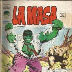 Cómics: LA MASA V3 - Nº 12 EL RINO DICE 'NO' VÉRTICE - 1975 (CONTRAPORTADA RECORTADA). Lote 271599503