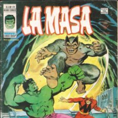Cómics: LA MASA V3 - Nº 29 EN LA FRONTERA DE LA MUERTE. VÉRTICE - 1975. Lote 271599768