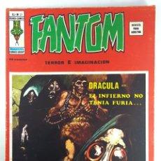 Cómics: VOL.2 FANTOM Nº 21 EL INFIERNO NO TENÍA FURIA - VERTICE - RELATOS ESCALOFRIANTES -1975 - BUEN ESTADO. Lote 271600308