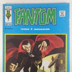 Cómics: VOL.2 FANTOM Nº 22 ¡VUELO DE HORROR! - VERTICE - RELATOS ESCALOFRIANTES -1975 - BUEN ESTADO. Lote 271600408