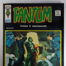 Cómics: VOL.2 FANTOM Nº 23 SANGRE A CHORRO - VERTICE - RELATOS ESCALOFRIANTES -1975 - BUEN ESTADO. Lote 271614908