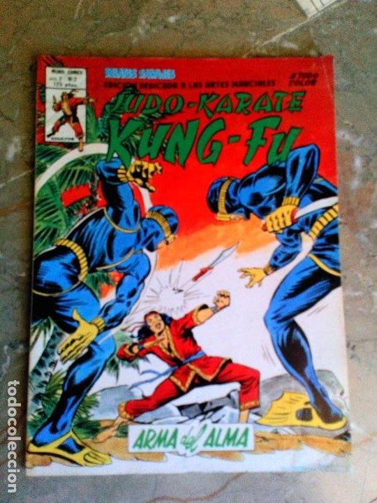 ARTES MARCIALES SANG CHI KUNG FU RELATOS SALVAJES VOL.2 Nº 2 VERTICE (Tebeos y Comics - Vértice - Relatos Salvajes)
