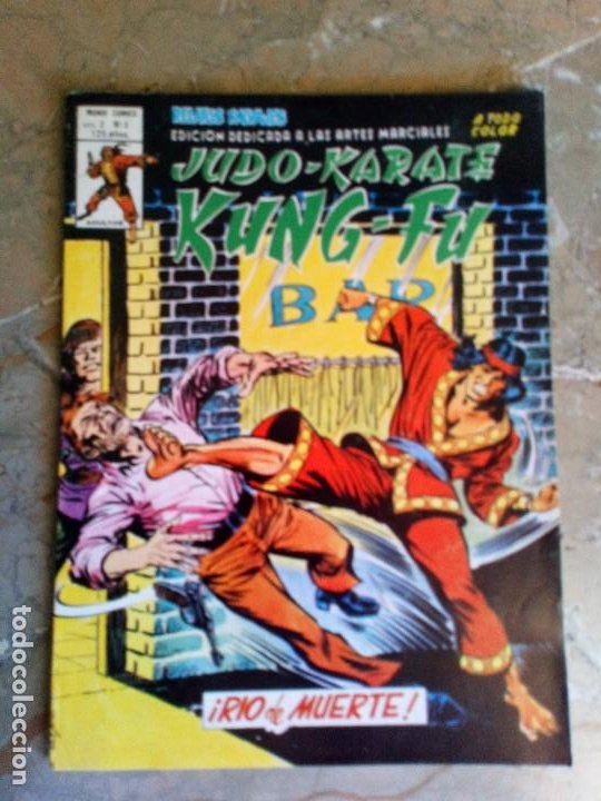 ARTES MARCIALES SANG CHI KUNG FU RELATOS SALVAJES VOL.2 Nº 3 VERTICE (Tebeos y Comics - Vértice - Relatos Salvajes)