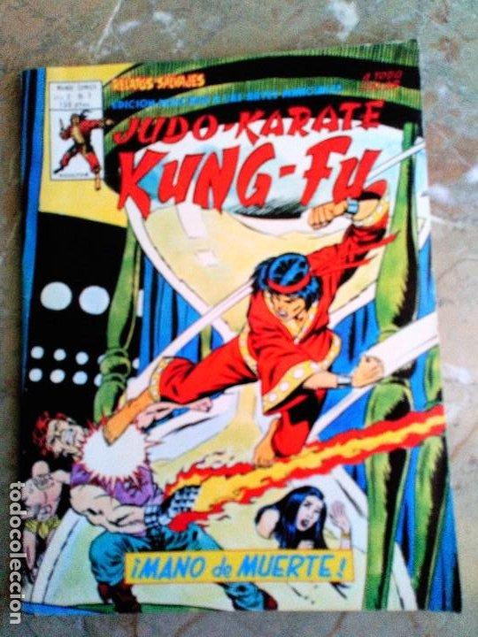 ARTES MARCIALES SANG CHI KUNG FU RELATOS SALVAJES VOL.2 Nº 7 VERTICE (Tebeos y Comics - Vértice - Relatos Salvajes)