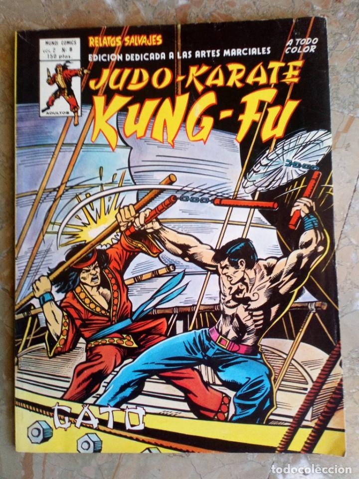 ARTES MARCIALES SANG CHI KUNG FU RELATOS SALVAJES VOL.2 Nº 8 VERTICE (Tebeos y Comics - Vértice - Relatos Salvajes)