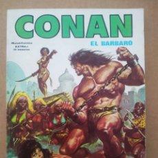 Cómics: CONAN EL BÁRBARO EXTRA N°1 (VÉRTICE/MUNDI CÓMICS, 1980). CONAN EL BUCANERO. RELATOS SALVAJES.. Lote 272367338