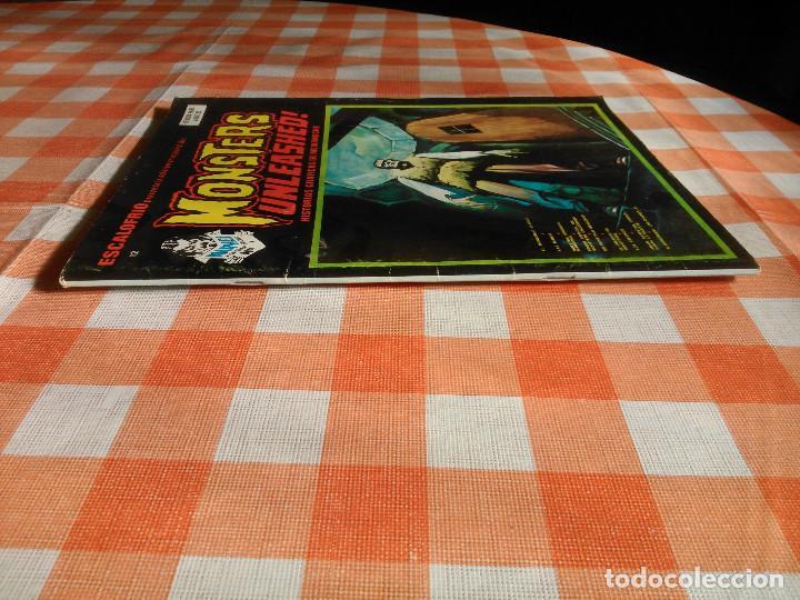 Cómics: ESCALOFRIO nº 10, 12, 16 y 35 (Vertice 1974) Vampire Tales nº 2 y 9 + Monsters Unleashed 4 y 5. - Foto 6 - 195990443