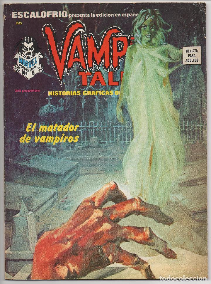 Cómics: ESCALOFRIO nº 10, 12, 16 y 35 (Vertice 1974) Vampire Tales nº 2 y 9 + Monsters Unleashed 4 y 5. - Foto 11 - 195990443