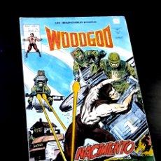 Cómics: BUEN ESTADO WOODGOD 35 COMICS EDICIONES VERTICE. Lote 273071763